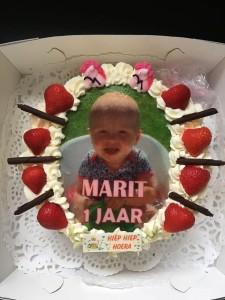 Foto taart verjaardag